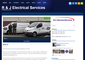 R & J Electrical Services : www.randjelectricalservices.co.uk