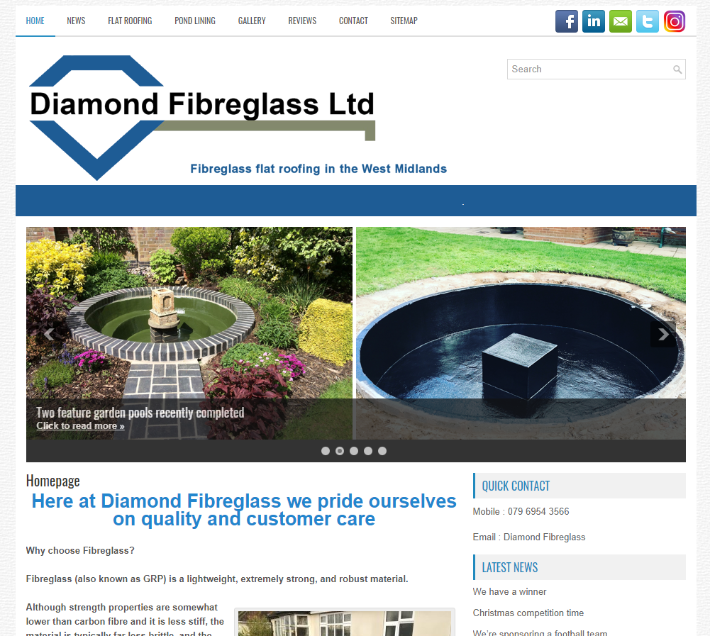 Diamond Fibreglass : www.diamondfibreglass.co.uk
