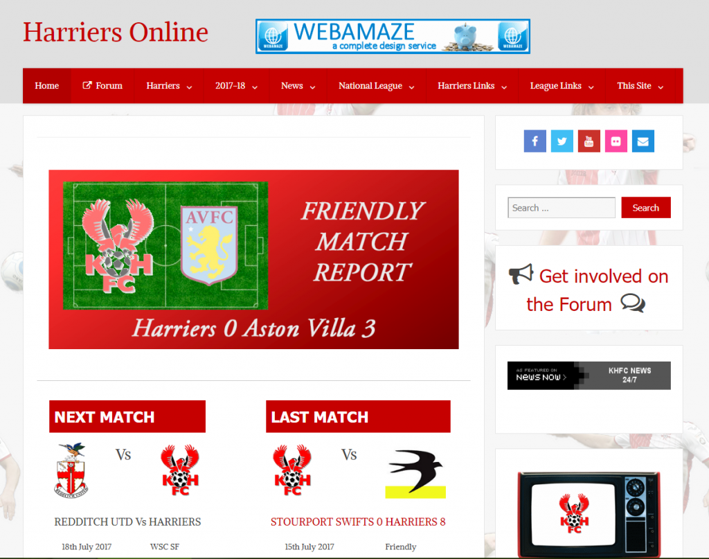 Harriers Online : www.harriers-online.co.uk