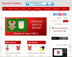 Harriers Online : www.harriers-online.co.uk